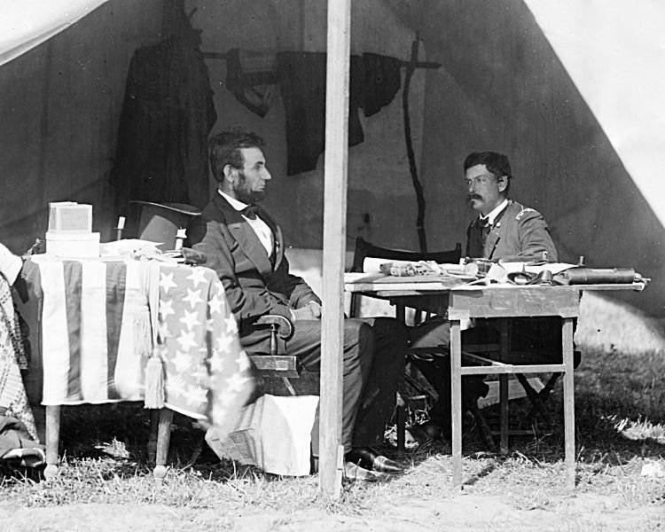 Lincoln and McClellan 1863